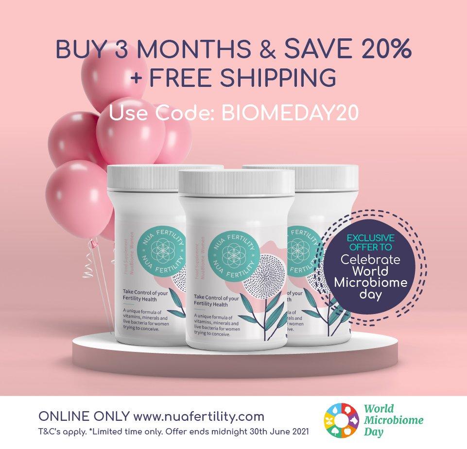 discount nuabiome women