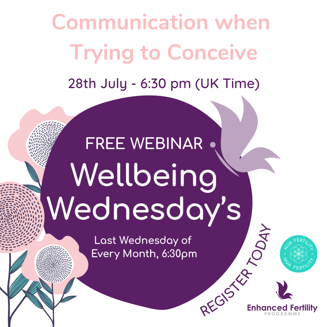 Wellbeing Wednesday – Communication When Trying to Conceive